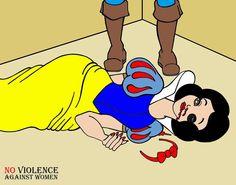 Humor Chic Art & Social - NO VIOLENCE AGAINST WOMEN by aleXsandro Palombo humorchic.blogspot.com