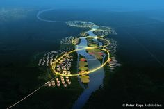 Green Health City Proposal / Peter Ruge Architekten