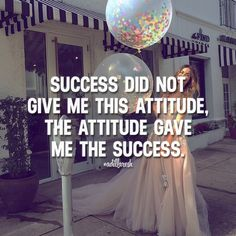 Success did not give me this attitude, the attitude gave me the success. Like this? Let us know, follow and share it with your friends! ➡️ @freshsnd for pop culture photos! #adillaresh #quotes #quote #success #motivation #inspiration #attitude #dreams #change #give #ceo #style #business #goals #leader #entrepreneur