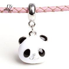 Cheap Joyería de DIY que hace Beads europea Metal encantos flotantes lindo Panda colgante de bolas de ajuste para Pandora Charms Chain Bracelet & Bangles, Compro Calidad Cuentas directamente de los surtidores de China:             Bienvenido a nuestra tienda!                                Nota: (por favor lea antes de orden)
