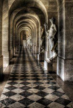 Greater Paris, Versailles Grand Parc, Palace of Versailles--- I have always wanted to see Versailles Chateau Versailles, Palace Of Versailles, Beautiful Architecture, Architecture Details, Gothic Architecture, Ancient Architecture, Image Paris, Luis Xiv, Belle Villa