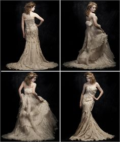 Conscious Couture Wedding Gowns From Lindee Daniel