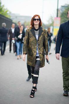 Taylor Tomasi Hill / Paris Fashion Week Street Style