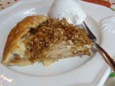 Rustic Apple Pie recipe from Tia Maria's Blog