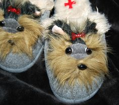 Love my new Yorkie House Slippers...@sheri kirby