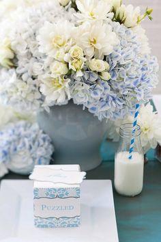 Csíkos kék szívószál Dekorella Shop http://dekorellashop.hu/