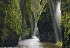 """Allure"" Columbia River Gorge photographer: Peter Lik"