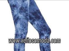 Video Pantalón vaquero para mujer. Tienda en España http://www.xeitosomoda.com/32-pantalones