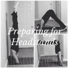 #WellnessWednesday: Preparing for Headstands