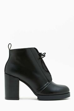 Why is the only size left an 11?? Cheap Monday Layer Laced Bootie #heartbroken #cheapmonday #bootie
