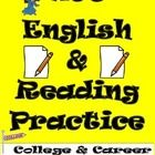 Great practice (95 pages) for the ACT English and Reading sections.  This product is one of my finest ACT prep resources, and as a bonus, if you pu...
