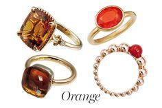 【オレンジ/ORANGE】周りの人を幸せにするポジティブなオーラ!