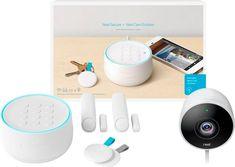 Nest - Secure Alarm System with Nest Cam Outdoor - White #bestbuy #tech #wishlist