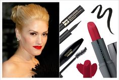 Classic red lip (that even Gwen Stefani would be jealous of!)