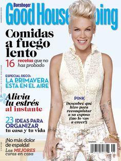 ¡Ya está a la venta GoodHousekeeping mayo! En portada: Pink nos contó su increíble historia de amor.