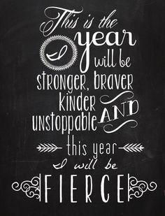 Free Fierce Printable Quote - Dwell Beautiful Motivational quotes motivation quotes #motivation #quote