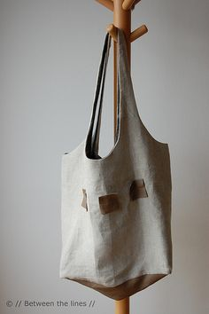 "Found this as ""DIY tote bag""... more like ""how to sew a tote bag"":) Love!"