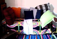 Nuovo stile per un vecchio divano