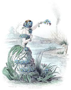 Forget-Me-Not Fairy, circa 1842