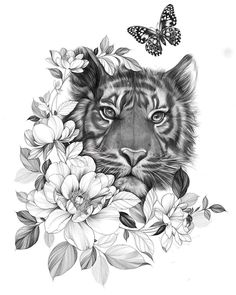 On June Jiwha Garden Opening Party and Flea Market … – Market # … - tatoo feminina Mädchen Tattoo, Lion Tattoo, Back Tattoo, Tattoo Drawings, Tiger Thigh Tattoo, Trendy Tattoos, Sexy Tattoos, Sleeve Tattoos, Tattoos For Women