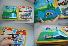 quiet book for boy quiet book page busy book by WondefulKids