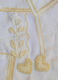 embroidery crazy quilt   white on white crazy quilt, beads    Flickr - Photo Sharing ...