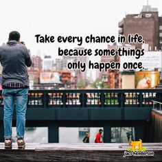 Take those chances <3 ... Click to Join Us For Social Network Marketing Strategies ... #jacshenderson #socialnetworkmarketing #networkmarketing