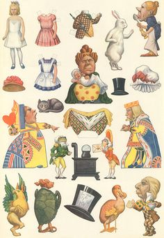 Alice-in-Wonderland-Die-Cuts.jpg 2,121×3,072 ピクセル