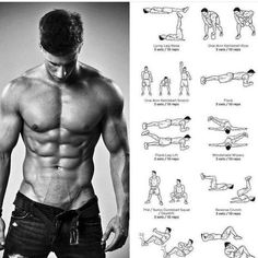 ABS workout through force! You can see on above a pics, and save it ! Related posts:Butt workoutThe Perfect Beginner's Bodybuilding Programcorrect position with squatsRead More → Fitness Hacks, Fitness Workouts, Gym Workout Tips, Abs Workout Routines, Aerobics Workout, Planet Fitness Workout, Muscle Fitness, Workout Challenge, Fun Workouts