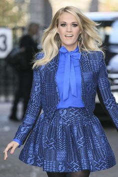 Carrie Underwood at the ITV studios