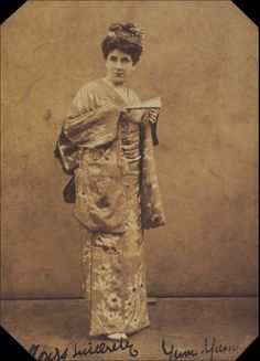 "Leonora Braham as Yum-Yum in the original production of ""The Mikado"" in 1885."