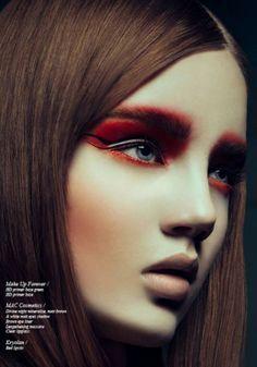 beauty make up editorial - Buscar con Google
