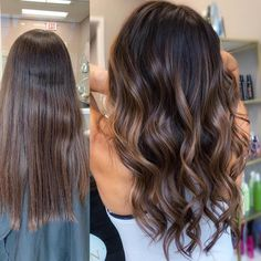 22 Best Honey Brown Hair Color Ideas for Light or Dark Hair in 2019 - Style My Hairs Brown Hair Shades, Brown Hair With Blonde Highlights, Brown Hair Balayage, Brown Hair Colors, Lowlights For Brown Hair, Hair Color For Dark Skin Tone, Brunette With Lowlights, Honey Highlights, Summer Highlights