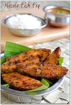 You Have Meals Poisoning More Normally Than You're Thinking That Masala Fish Fry Recipe Fried Fish Recipes, Veg Recipes, Curry Recipes, Salmon Recipes, Seafood Recipes, Indian Food Recipes, Asian Recipes, Chicken Recipes, Cooking Recipes
