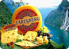 The Norwegian cheese Jarlsberg is the 3rd largest export product from Norway. Jarlsberg is found in many markets around the world and used as a delicious ingredient in many recipes.