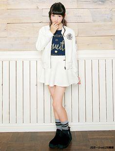 フレアースカートが女の子らしい♡ ☆小学生ファッション スタイルの参考コーデ☆