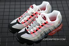 on sale 81f01 9d29d Nike Air Vapormax 95 OG Red Grey Discount