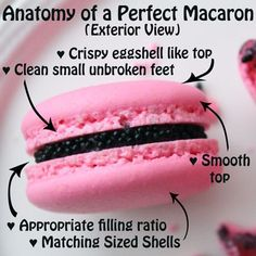 Feet: Perhaps the most talked about and coveted aspect in the art of macaron making. You'll realize that once you've acheived macarons with feet, you don't want just any kind of f…