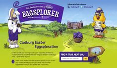 Cadburys and the National Trust join forces to bring people together to 'eggsplore' and find hidden eggs  #Easter #Easterpackaging #ShopperMarketing #HolidayMarketing #SeasonalMarketing #Occasionbasedmarketing