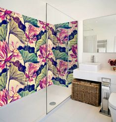 If you are interested in freshening up an old bathroom floor, painting the bathroom tile may be all you need to get the job Painted Bathroom Floors, Painting Bathroom Tiles, Painting Ceramic Tiles, Bathroom Tile Designs, Bathroom Flooring, Old Bathrooms, Guest Bathrooms, Master Bathroom, Types Of Ceramics