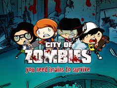 City of Zombies - wonderful cartoony art game using maths to defeat zombies cooperatively.
