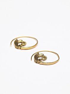 Free People Ornate Swirl Earring, $19.95