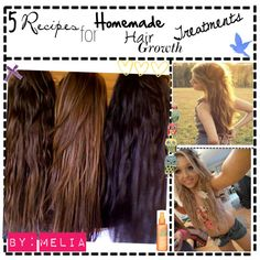 5 Recipes for Homemade Hair Growth Treatments