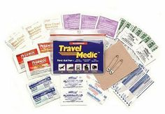 Travel Medic First-Aid Medical Kit by Adventure Medical Kits.