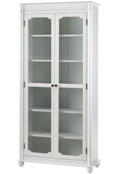 Bookshelf Pantry Wood Bookshelves Door Open Bookcase With Glass Doors