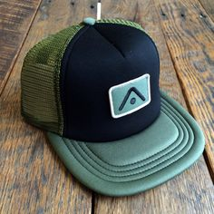 Image of THE MITCHELL SNAPBACK TRUCKER - OLIVE