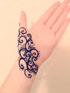 Easy Henna art