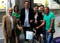 Progress Werbung Salzburg errichtet 6. Rad-Servicestation #outofhomemagazin