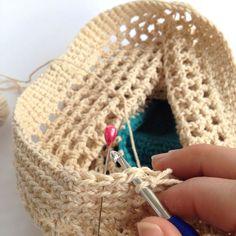 DIY Crochet Market Bag Pattern   My Poppet Makes