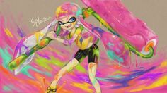 Splatoon by hebikuiwashi801